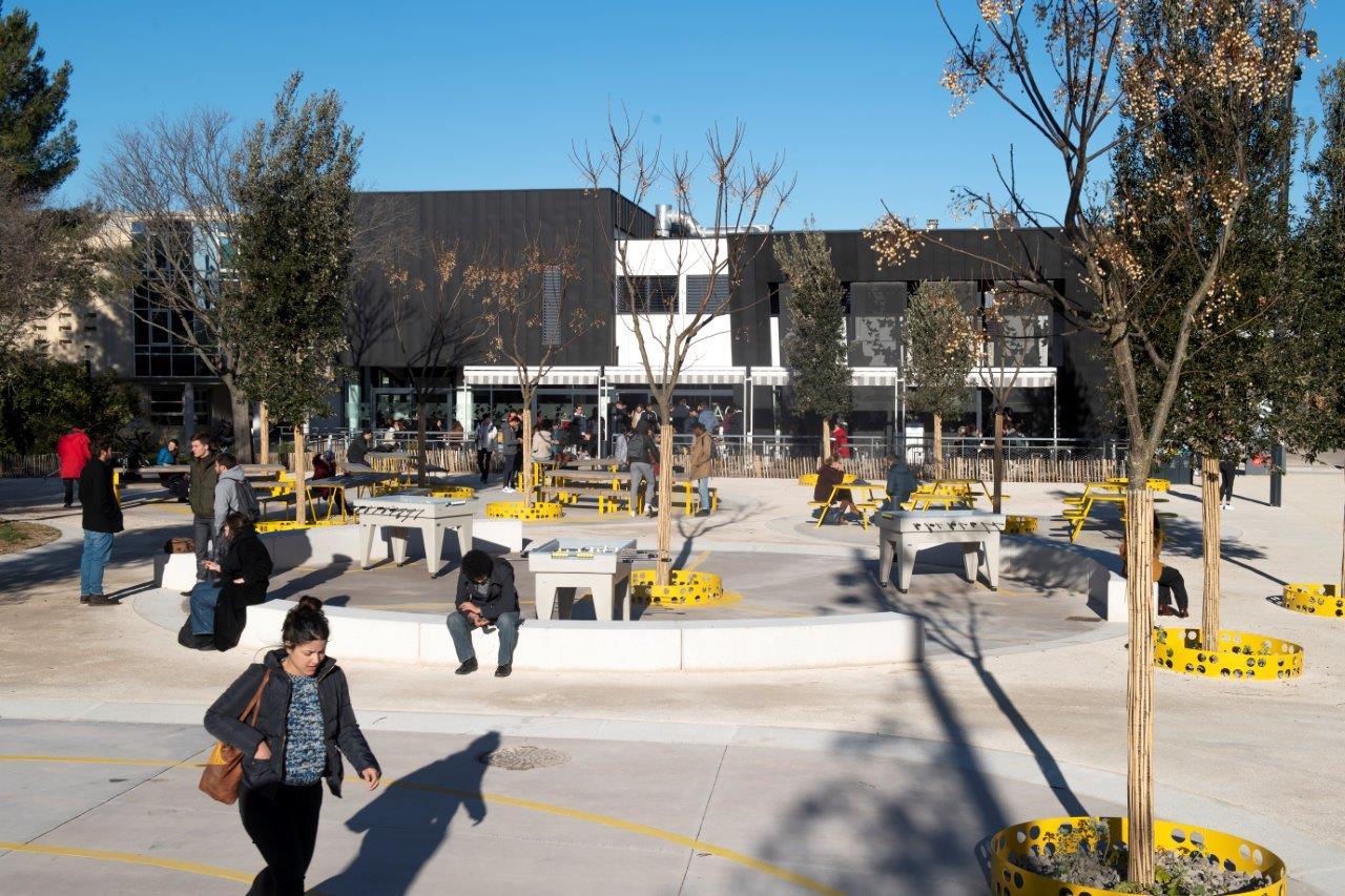 Avec l op ration campus le site universitaire montpelli rain prend un coup de jeune r gion - Jardin d essence montpellier ...