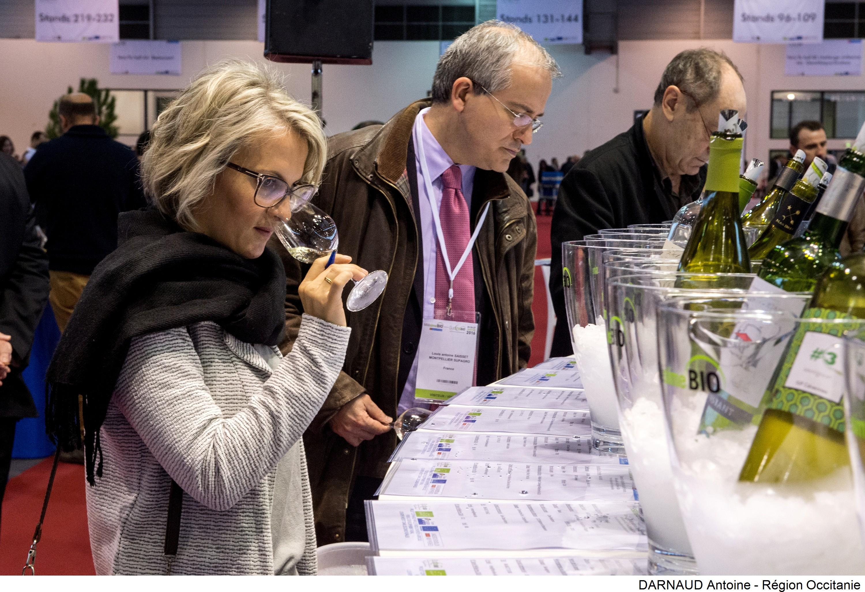 Mill sime bio le mondial des vins biologiques for Salon bio montpellier