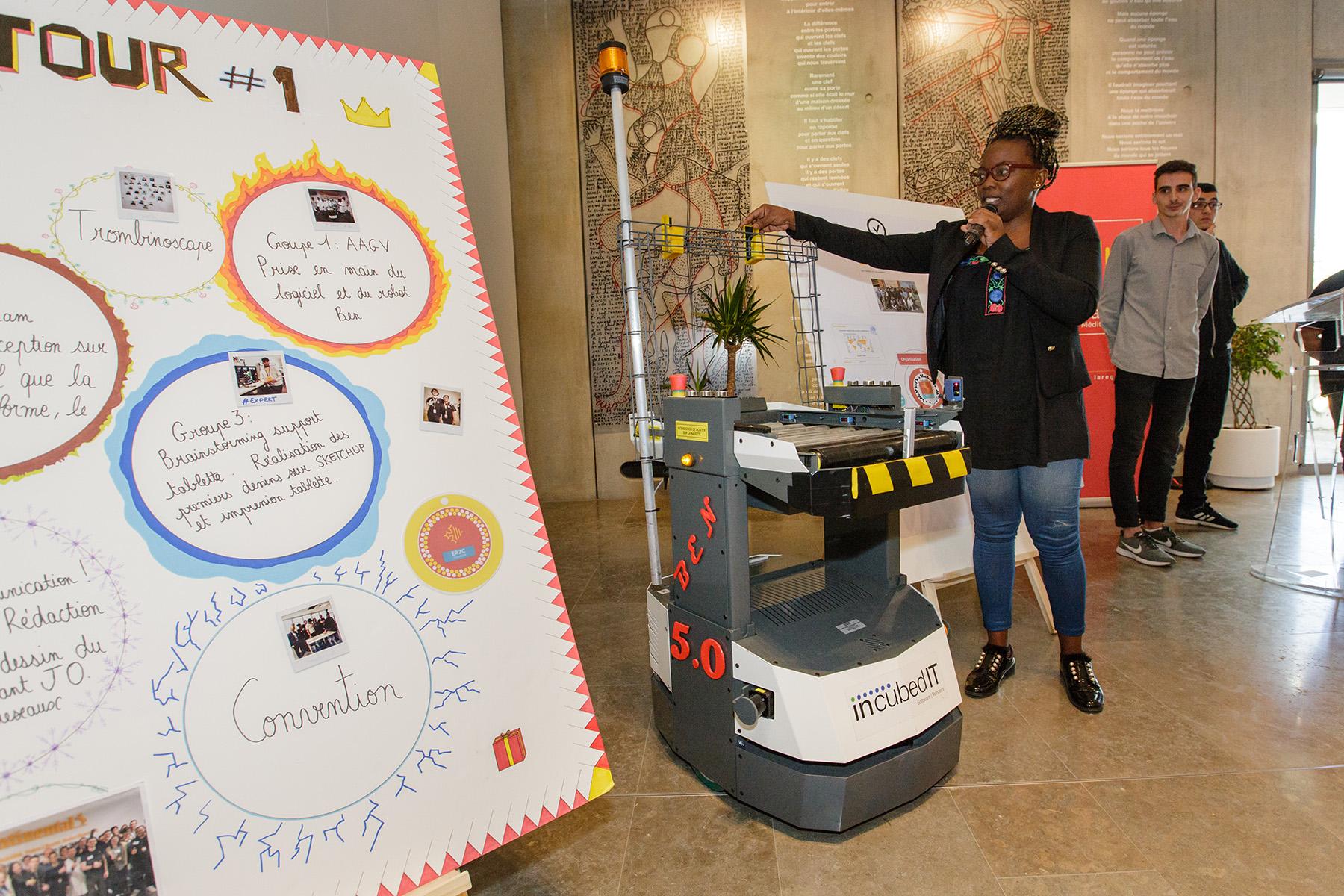 Les Eleves De LEcole La 2e Chance Toulouse Ont Realise Un Robot