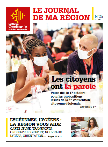 Journal de ma Région n°25 - Octobre 2020